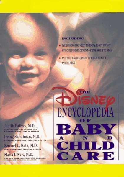 Books About Parenting - The Disney Encyclopedia of Baby and Child Care (Vols I & II)