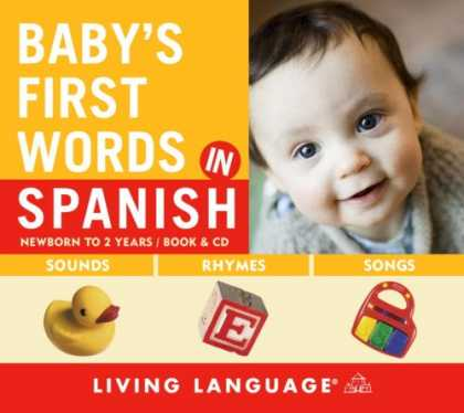 Books About Parenting - Baby's First Words in Spanish