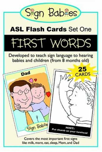 Books About Parenting - Sign Babies ASL Flash Cards, Set One: First Words
