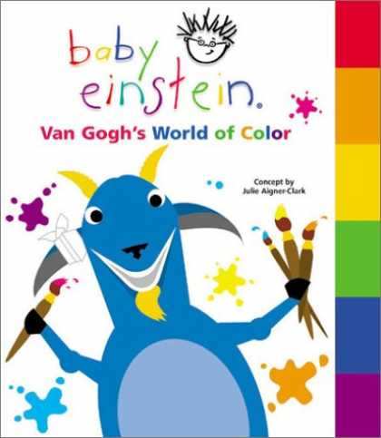Books About Parenting - Baby Einstein: Van Gogh's World of Color (Baby Einstein Books)
