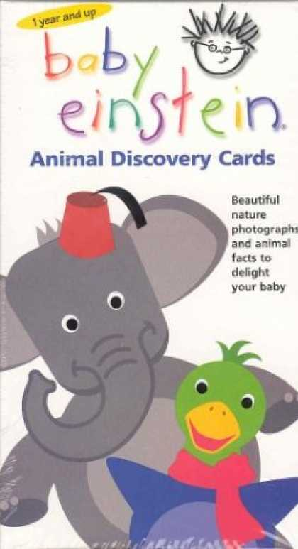 Books About Parenting - Baby Einstein: Animal Discovery Cards : Beautiful Nature Photographs and Animal
