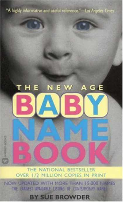 Books About Parenting - The New Age Baby Name Book