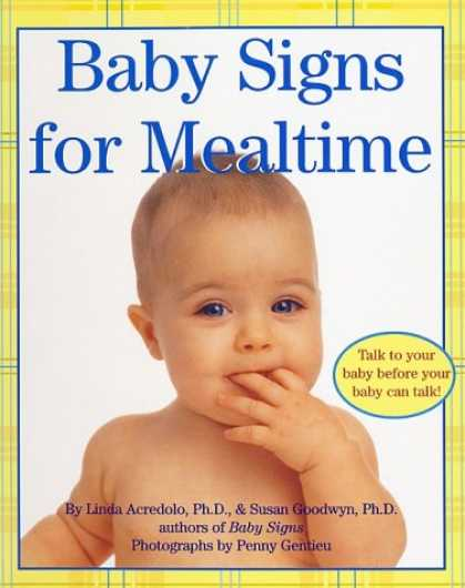 Books About Parenting - Baby Signs for Mealtime