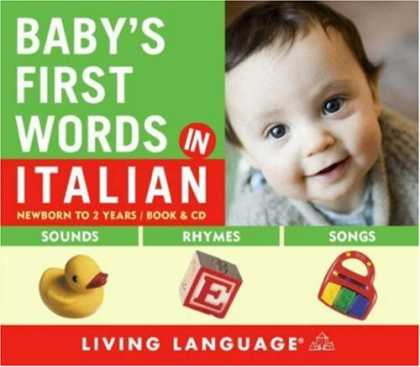 Books About Parenting - Baby's First Words in Italian