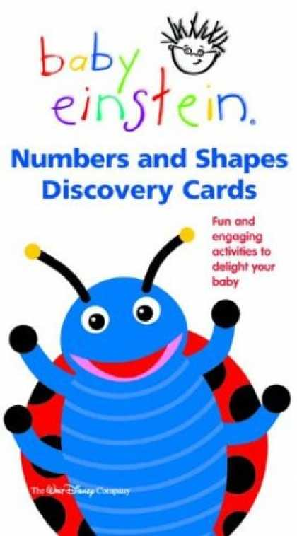 Books About Parenting - Baby Einstein: Numbers and Shapes Discovery Cards