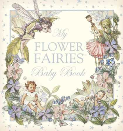 Books About Parenting - Flower Fairies Baby Book R/I