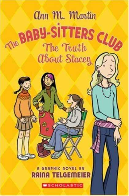 Books About Parenting - The Baby-Sitters Club: The Truth About Stacey