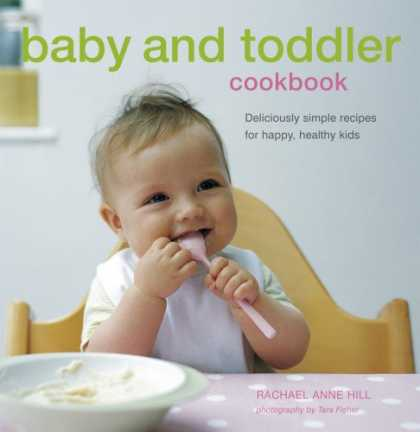 Books About Parenting - Baby and Toddler Cookbook