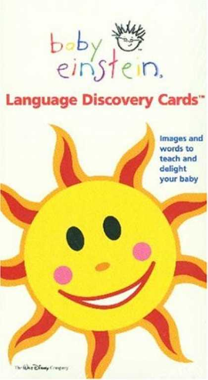 Books About Parenting - Baby Einstein: Language Discovery Cards
