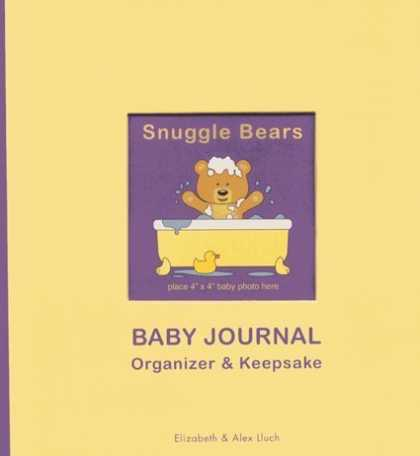 Books About Parenting - Snuggle Bears Baby Journal, Organizer & Keepsake