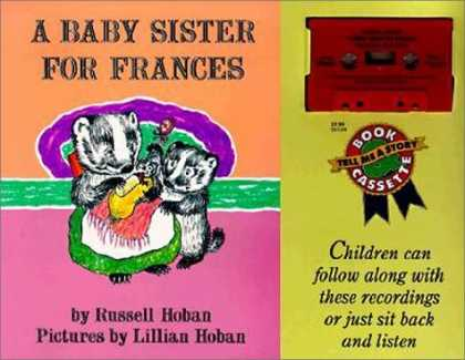 Books About Parenting - A Baby Sister for Frances Book and Tape