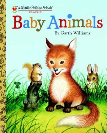 Books About Parenting - Baby Animals (Little Golden Book)