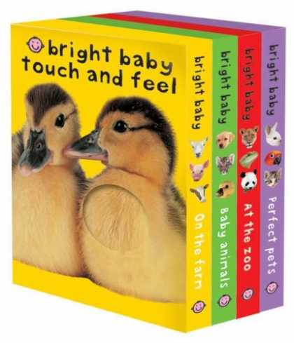 Books About Parenting - Bright Baby Touch & Feel Slipcase: On the Farm, Baby Animals, At the Zoo and Per