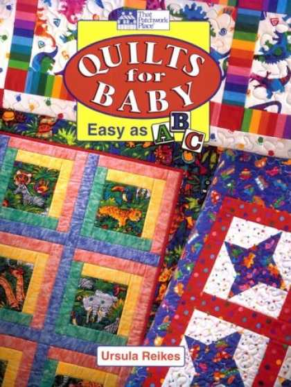 Books About Parenting - Quilts for Baby: Easy As ABC