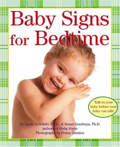 Books About Parenting - Baby Signs for Bedtime