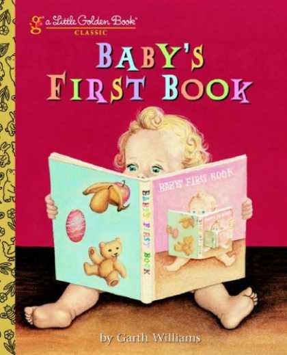 Books About Parenting - Baby's First Book (Little Golden Book)