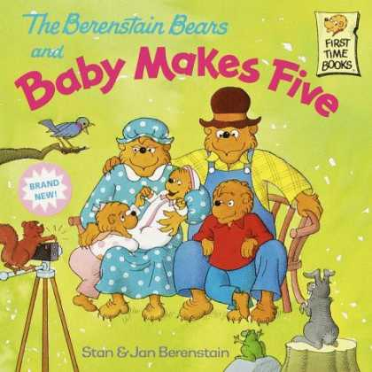 Books About Parenting - The Berenstain Bears and Baby Makes Five (First Time Books(R))