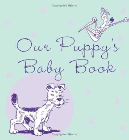 Books About Parenting - Our Puppy's Baby Book
