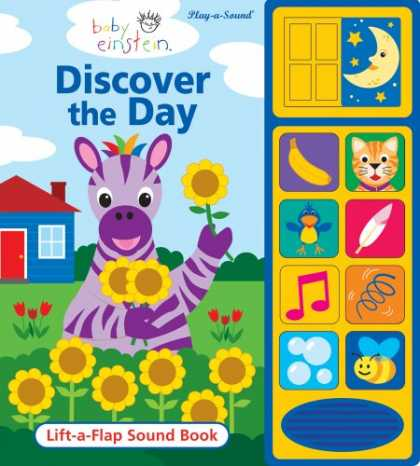 Books About Parenting - Baby Einstein Discover the Day: Lift-A-Flap Sound Book (Play-A-Sound Books)