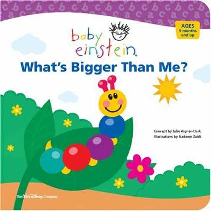 Books About Parenting - Baby Einstein: What's Bigger Than Me?