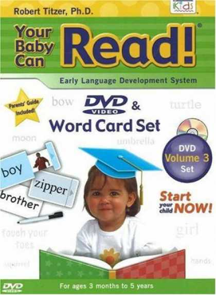 Books About Parenting - Your Baby Can Read (DVD & Word Card Set)