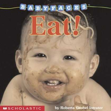 Books About Parenting - Baby Faces Board Book Eat (Baby Faces)
