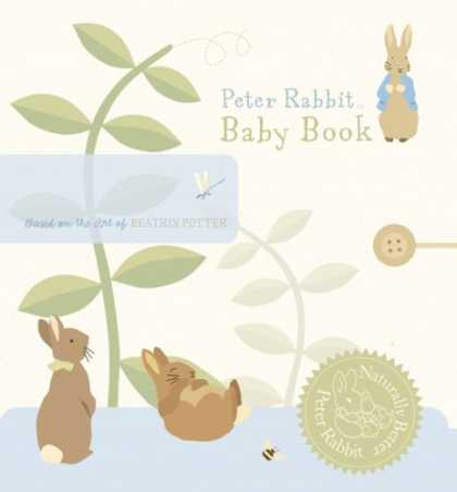 Books About Parenting - Peter Rabbit Baby Record Book (Peter Rabbit Naturally Better)
