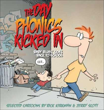 Books About Parenting - The Day Phonics Kicked In: Baby Blues Goes Back to School