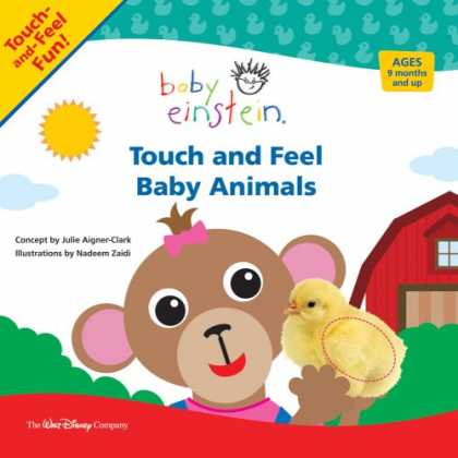 Books About Parenting - Baby Einstein: Touch and Feel Baby Animals