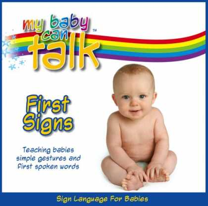 Books About Parenting - My Baby Can Talk - First Signs Board Book