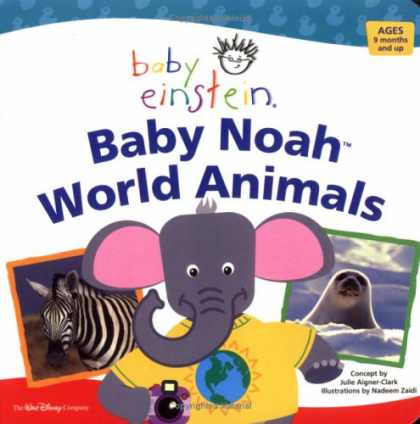 Books About Parenting - Baby Einstein: Baby Noah World Animals