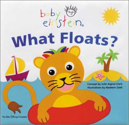 Books About Parenting - Baby Einstein: What Floats: Splash & Giggle Bath Book (Baby Einstein)