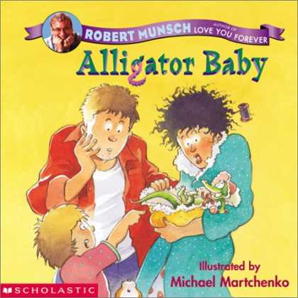 Books About Parenting - Alligator Baby