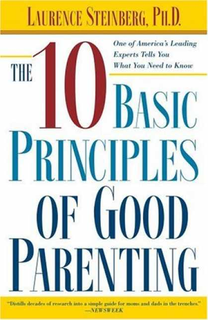 Books About Parenting - The Ten Basic Principles of Good Parenting (Spanish Edition)
