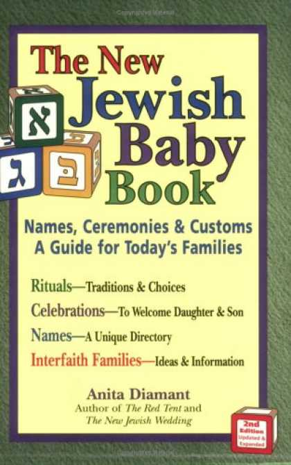 Books About Parenting - The New Jewish Baby Book: Names, Ceremonies, & Customs-a Guide for Today's Famil