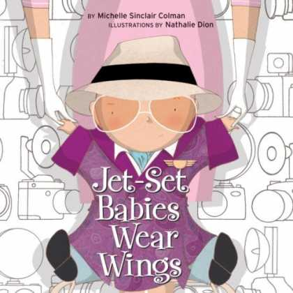 Books About Parenting - Jet-Set Babies Wear Wings (Urban Babies Wear Black)