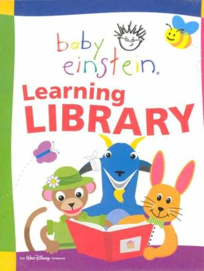 Books About Parenting - Baby Einstein Learning Library; 12 books, including: Lets Explore; With baby, Na