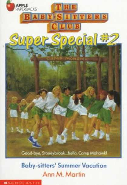 Books About Parenting - Baby-Sitter's Summer Vacation (Baby-Sitters Club Super Special, 2)