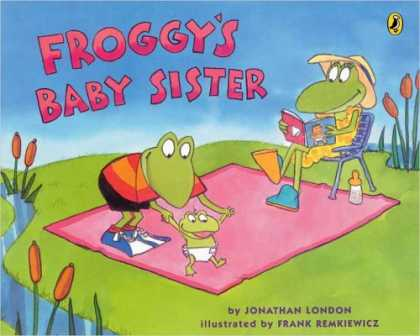 Books About Parenting - Froggy's Baby Sister