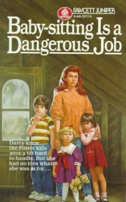 Books About Parenting - Baby-Sitting Is a Dangerous Job