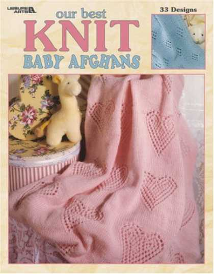 Books About Parenting - Our Best Knit Baby Afghans (Leisure Arts #3219)