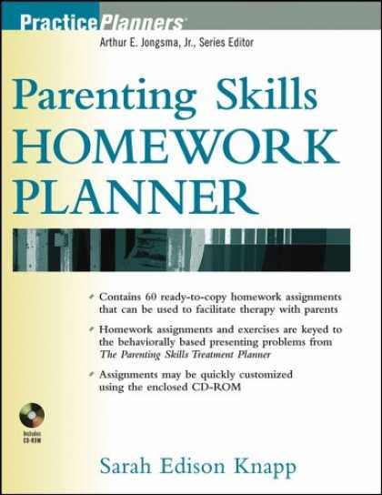 Books About Parenting - Parenting Skills Homework Planner (PracticePlanners®)