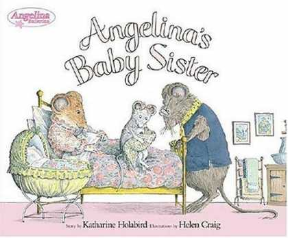 Books About Parenting - Angelina's Baby Sister (Angelina Ballerina)