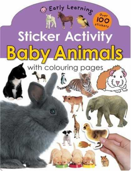 Books About Parenting - Baby Animals (Sticker Activity Early Learning)