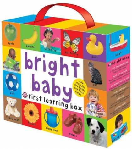 Books About Parenting - Bright Baby First Learning Box (Boxed Gift Set)