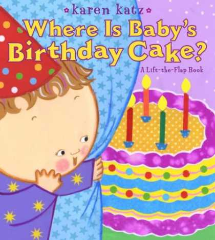 Books About Parenting - Where Is Baby's Birthday Cake?: A Lift-the-Flap Book (Lift-The-Flap Book (Little