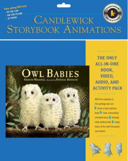 Books About Parenting - Owl Babies: Candlewick Storybook Animations