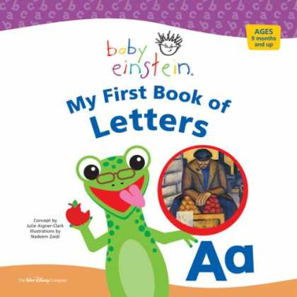 Books About Parenting - Baby Einstein: My First Book of Letters