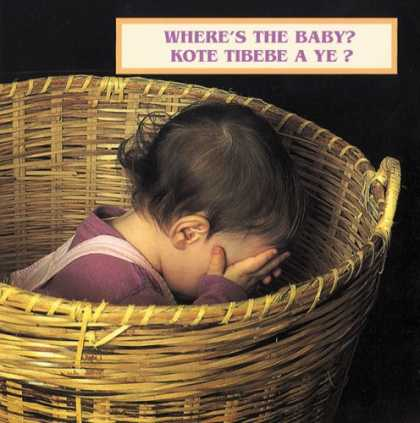 Books About Parenting - Where's the Baby? (English/Haitian Creole bilingual edition)