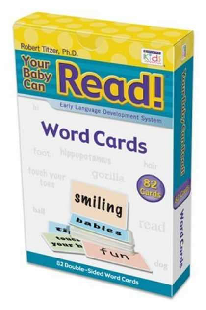 Books About Parenting - Your Baby Can Read!: Word Cards, Early Language Development System